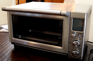 clean toaster oven outer body