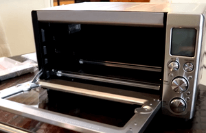 how to clean toaster oven interior
